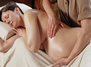 Prenatalmassage in Seitenlage
