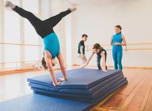 Akrobatik & Bodenturnen für Kinder (5-7) auf Englisch: acrobatics classes for kids in English