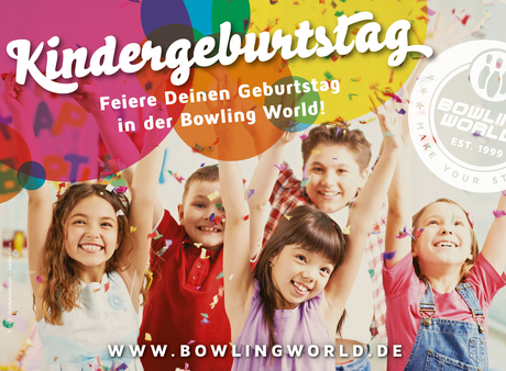 Kids Birthday Partys in der Bowling World Berlin