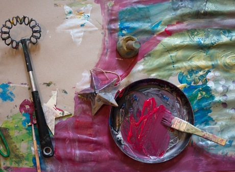 MESSY CHRISTMAS! A little art Festive Creativity LAB