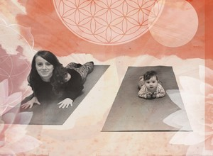 Mum + Baby Postnatal Yoga in English