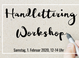Handlettering Workshop - Anfängerkurs